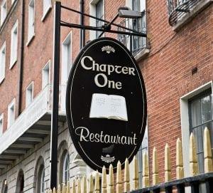 Chapter One Dublin