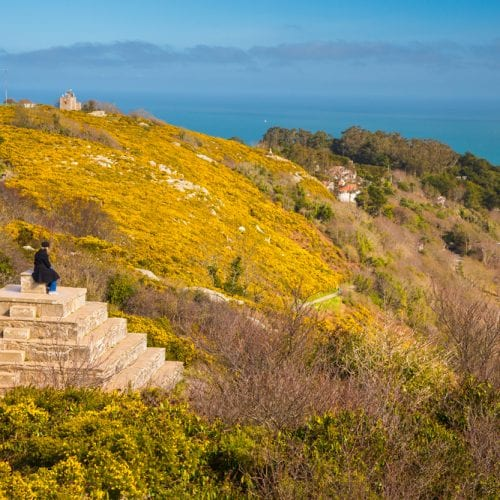 Killiney Hill in Dublin