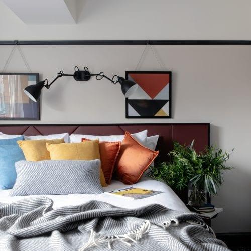The Mont Hotel Dublin City Bedroom