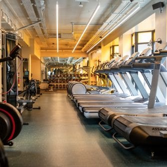 Tredmills in The Mont Hotel Gym